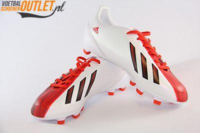 Adidas Adizero F30 wit rood kids