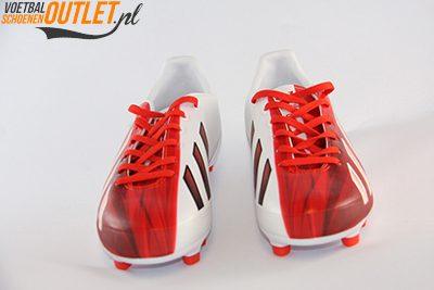 Adidas Adizero wit rood kids voorkant (G65393)