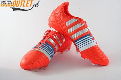 Adidas Nitrocharge 2.0 rood voor- en zijkant (M29849)