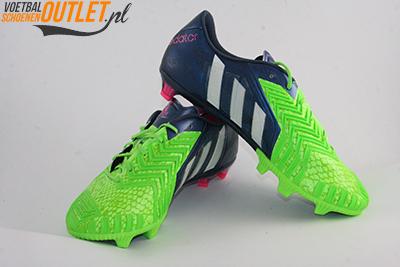 Adidas Predator Instinct groen blauw voor- en zijkant (M17644)