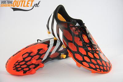 Adidas Predator Instinct zwart oranje voor- en onderkant (M17643)