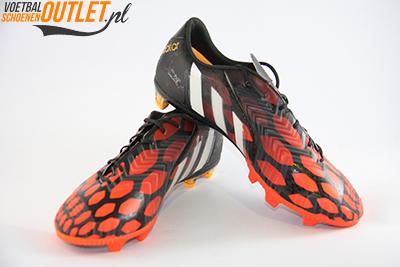Adidas Predator Instinct zwart oranje voor- en zijkant (M17643)