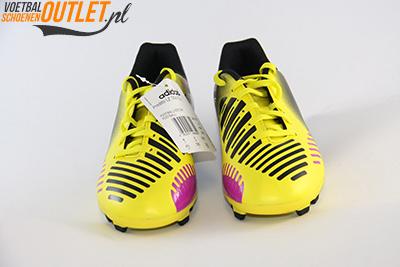 Adidas Predator Predito geel zwart kids voorkant (G65116)
