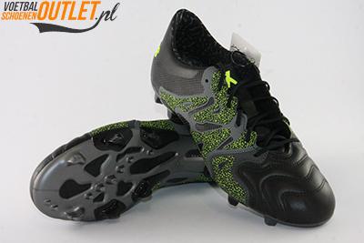 Adidas X 15.1 zwart grijs voor- en onderkant (B26978)