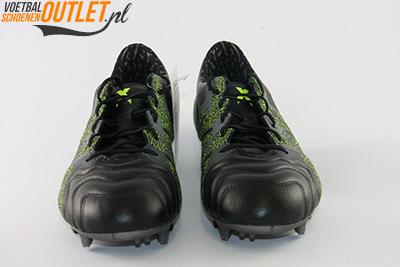 Adidas X 15.1 zwart grijs voorkant (B26978)