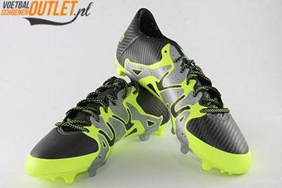 Adidas X 15.1 zwart zilver geel