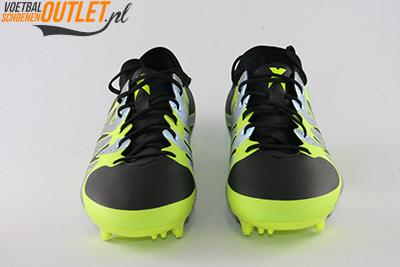 Adidas X 15.2 zwart zilver geel zwart voorkant (S75240)