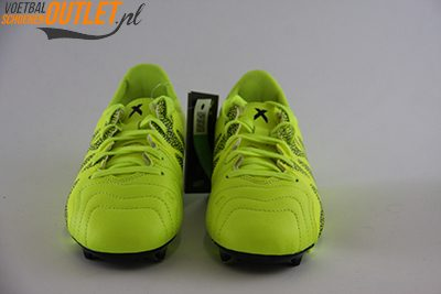 Adidas X 15.3 geel kids voorkant (B26968)