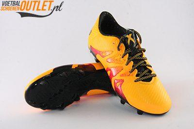 Adidas X 15.3 oranje roze voor- en onderkant (S74632)