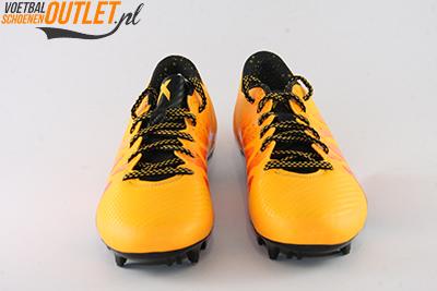 Adidas X 15.3 oranje roze voorkant (S74632)