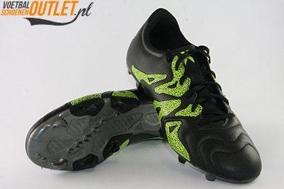 Adidas X 15.3 zwart geel voor- en onderkant (B26971)