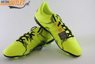 Adidas X 15.4 geel kids