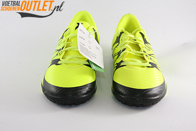 Adidas X15.3 geel zwart kids (TF) voorkant (B32974)
