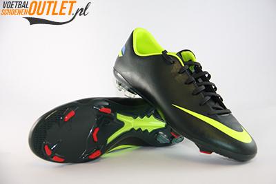 Nike Mercurial Glide III groen geel voor- en onderkant (509109-376)