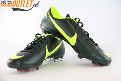 Nike Mercurial Glide III groen geel voor- en zijkant (509109-376)