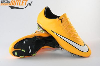 Nike Mercurial Vapor oranje voor- en onderkant (648553-800)