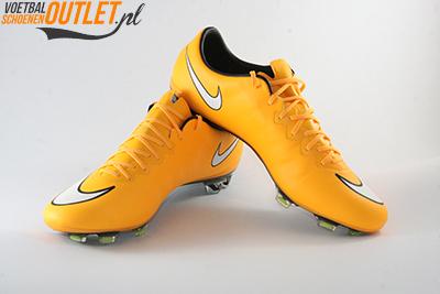 Nike Mercurial Vapor oranje voor- en zijkant (648553-800)