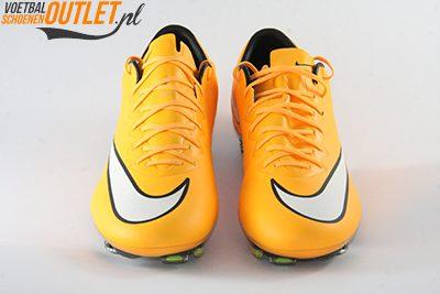 Nike Mercurial Vapor oranje voorkant (648553-800)