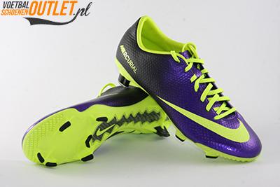 Nike Mercurial Veloce paars geel voor- en onderkant (555447-570)