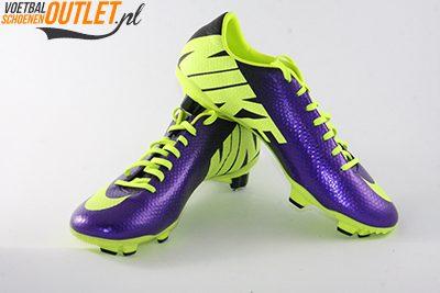 Nike Mercurial Veloce paars geel
