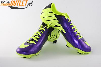 Nike Mercurial Veloce paars geel voor- en zijkant (555447-570)