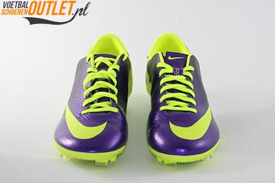 Nike Mercurial Veloce paars geel voorkant (555447-570)