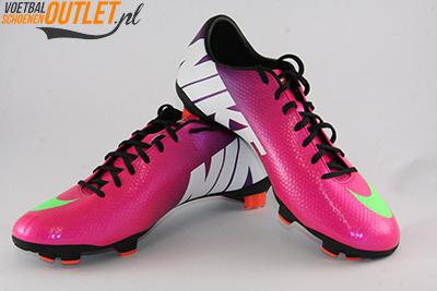 Nike Mercurial Veloce paars roze voor- en zijkant (555447-635)