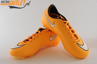 Nike Mercurial Victory oranje kids voor- en zijkant (651634-800)
