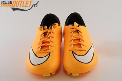 Nike Mercurial Victory oranje kids voorkant (651634-800)