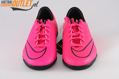 Nike Mercurial Victory roze kids (IC) voorkant (651639-660)