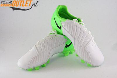 Nike T90 Strike wit groen