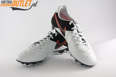 Nike Tiempo Legacy wit zwart
