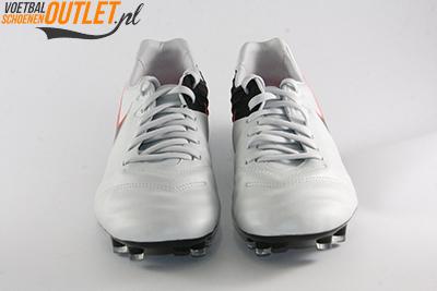 Nike Tiempo Legacy wit zwart voorkant (819218-001)