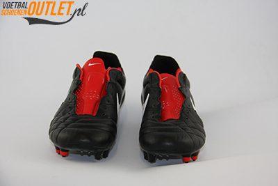 Nike Tiempo Legend zwart rood voorkant (454316-010)