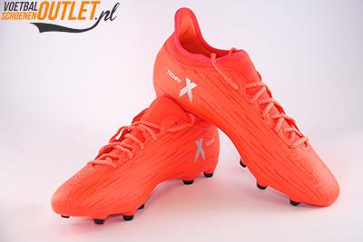 Adidas X 16.3 rood voor- en zijkant (S79483)