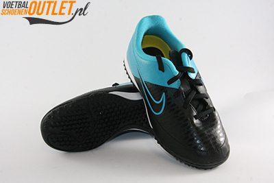 Nike Magista Onda zwart blauw kids (TF) voor- en onderkant (651657-004)