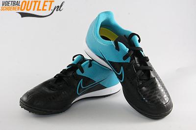 Nike Magista Onda zwart blauw kids (TF) voor- en zijkant (651657-004)