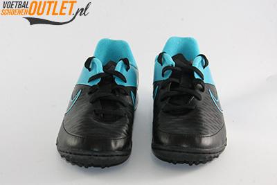 Nike Magista Onda zwart blauw kids (TF) voorkant (651657-004)