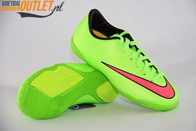 Nike Mercurial Victory groen kids (IC) voor- en onderkant (651639-360)