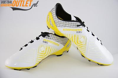 Warrior Gambler S-Lite wit geel voor- en zijkant (SMGAPFWS)