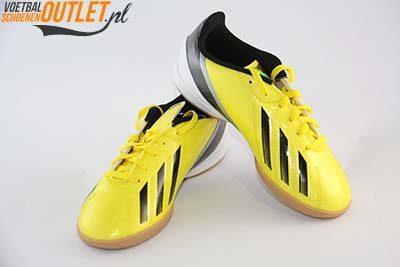 Adidas Adizero F10 geel kids (IC)