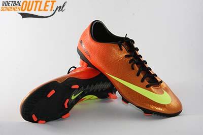 Nike Mercurial Veloce oranje geel voor- en onderkant (555447-778)
