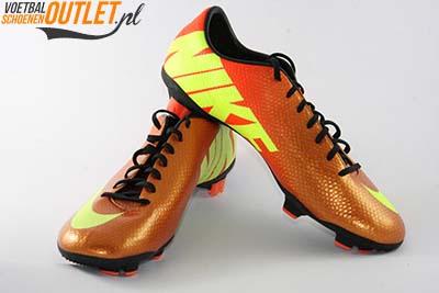 Nike Mercurial Veloce oranje geel voor- en zijkant (555447-778)