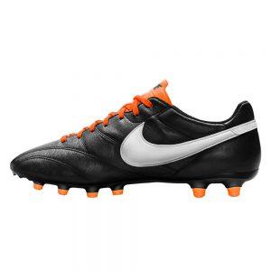 Nike Tiempo Premier zwart oranje