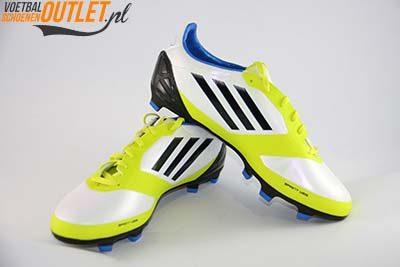 Adidas Adizero F30 wit geel zwart kids