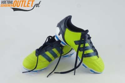 Adidas Predator Absolion groen kids voor- en zijkant (V23599)