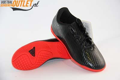 Adidas X 16.4 zwart kids (IC) voor- en onderkant (S75691)