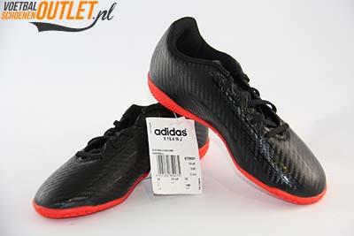 Adidas X 16.4 zwart kids (IC) voor- en zijkant (S75691)