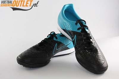 Nike Magista Onda zwart blauw (TF) voor- en zijkant (651549-004)