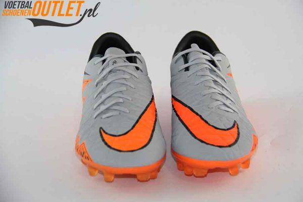 Nike Hypervenom Phinish grijs oranje voorkant (749901-081)